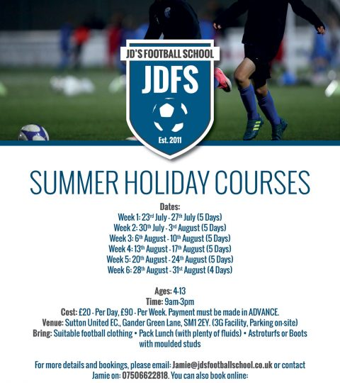 Summer Holiday Course