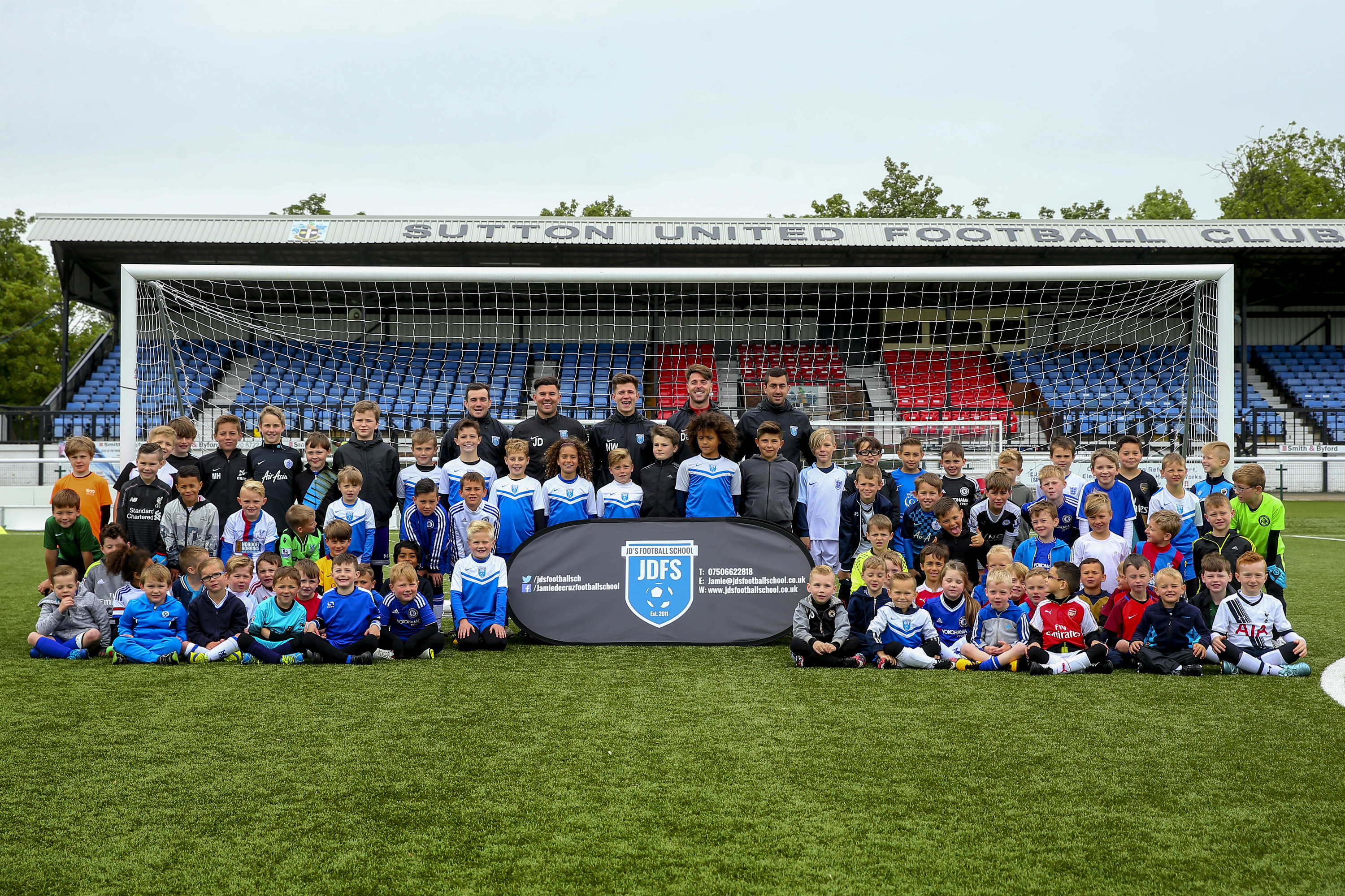 JD Football School. 2nd June 2016. Photo by Jordan Mansifled/www.jordanphoto.co.uk